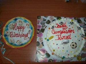 Jared's birthday cake