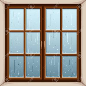 rainonwindow